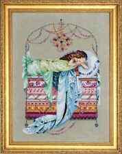 Mirabilia Cross Stitch Chart.MD123 Sleeping Princess  Cheap Shipping.
