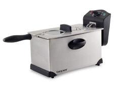 Friggitrice elettrica Professionale 3.5 L Beper Pata Plus 2000W acciaio 190°C