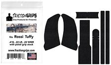 Rubber grip tape overlay fits Rossi Tuffy single shot with pistol grip stock