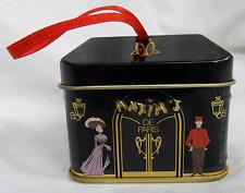 Maxim's De Paris Shop Chocolate Tin Box / Hanging Gift Box / Decoration