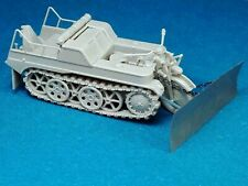 Minor 1/35 US field made snow plow for Kettenkrad