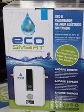 Eco Smart 8 kW Self-Modulating 1.55 GPM Electric Tankless Water Heater NEW