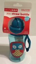 Skip Hop Zoo Straw Bottle (Owl) - 350mL Skip Hop