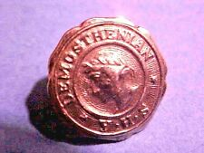 RARE Collectible Demosthenian Literary Society 10Kt Gold Pin University GA S29