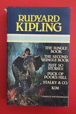 RUDYARD KIPLING OMNIBUS - 6-IN-1 - JUNGLE BOOK,