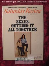 Saturday Review January 9 1971 SEXES GETTING TOGETHER FAUBION BOWERS