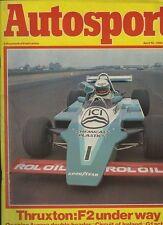 AUTOSPORT 10th APRILE 1980 * THRUXTON F2 & Safari Rally & AURORA AFX British F 1 *