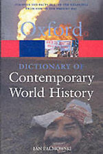 A Dictionary of Contemporary World History: From 1900 to the present day (Oxford