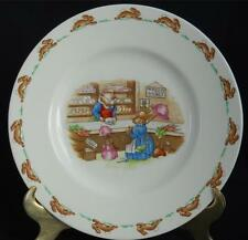 ROYAL DOULTON ~ Bunnykins ~ Mr. Piggly's Stores ~ Plate