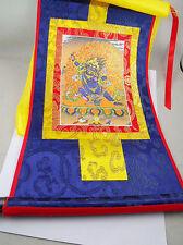Tibet Buddhism Vajrapani Buddha Thangka Print Scroll