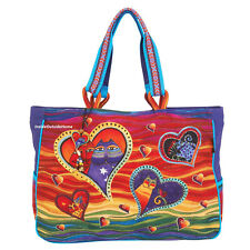 Laurel Burch Cat Hearts of the Feline OVERSIZED Tote Bag New 2019