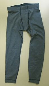 PATAGONIA BLUE FIRST CAPILENE BASELAYER LONG UNDERWEAR JOHNS PANTS BOY SMALL 7 8