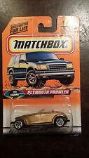 MATCHBOX PLYMOUTH PROWLER #18 CAR  FREE SHIPPING
