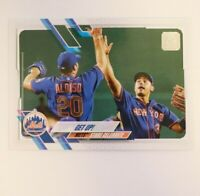 2021 Topps Series 1 Base #210 Get Up! New York Mets