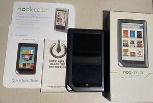Barnes & Noble Nook Color 8GB, Wi-Fi, 7 inch.  (Read)
