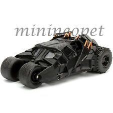 JADA 98232 2008 THE DARK KNIGHT BATMAN TUMBLER BATMOBILE 1/32 DIECAST CAR BLACK