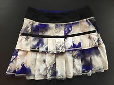 LULULEMON Pace Setter Skirt EUC Milky Way Pigment Discontinued Style 4 Tall
