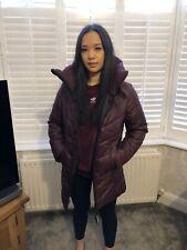 G-Star Raw Womens Maroon Alaska Classic Coat Brand New RRP £192