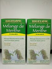 Bigelow Mint Medley Herbal Tea Bags 2 Box Pack