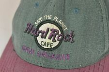 Hard Rock Cafe New Orleans Hat Cap Men's Two Tone Retro Cool Snap Back Usa