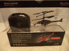 PROPEL Black8  REMOTE CONTROL HELICOPTER CHROME FLYER MICRO WIRELESS