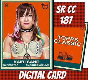 Topps Slam 20 Kairi Sane Smackdown Classic 2019 Digital Card