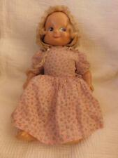 "VINTAGE 14"" TRUDY COMPOSITION DOLL 3 FACES SMILEY WEEPY SLEEPY ORIGINAL CLOTHES"