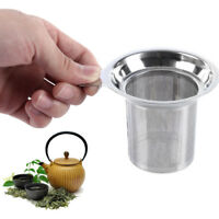 Stainless Steel Loose Tea Leaf Mesh Infuser Strainer Filter Herb Spice Diffuser
