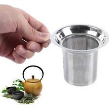 Stainless Steel Loose Tea Leaf Mesh Infuser Strainer Filter Herb Spice Diffuser