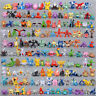 24/72/144/192PCS Pokemon Action Figures Mini Series PVC Toy Gift No Repeat 2-3CM