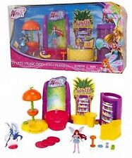 "Winx Club Frutti Music Bar Playset with Mini 3.75"" Bloom Doll"