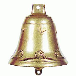 pz 6 campana in ottone lucido diametro mm45 campane campanaccio ovini pecore