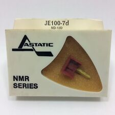 PHONOGRAPH NEEDLE JELCO ND-12D  IN ASTATIC PKG JE100-7D, NOS/NIB