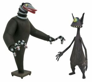 Nightmare Before Christmas Creature Under The Stairs & Cyclops Figures NBX