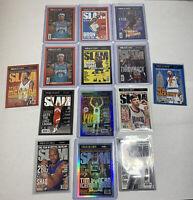 2020-21 Panini NBA Hoops Slam Lot X14 - Holo Curry, LeBron, Kobe, Zion & More