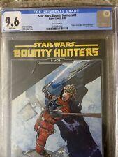 Star Wars: Bounty Hunters #3 CGC 9.6 NM+ RARE - Sprouse Empire Strikes Back Var