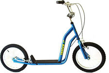 Scooter 16 Push & Kick Blue Toucan Big Wheels