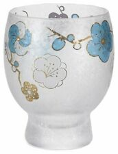 ADERIA Glassware Blue Ume Plum Sake Glass 145ml 6817 MADE IN JAPAN