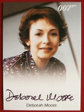 JAMES BOND - DIE ANOTHER DAY - DEBORAH MOORE, Flight Attendant - AUTOGRAPH CARD