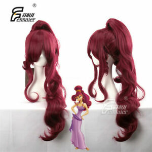 Hercules Megara Wavy Long Wavy Anime Cosplay Wig Hair