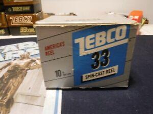 zebco 33 vintage in box vintage made in usa