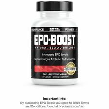 EPO-BOOST - Natural Blood Builder - 120 CAPS - OFFICIAL LISTING!