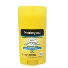 Neutrogena Beach Defense Water-Resistant Sunscreen Roll On Stick  SPF 50