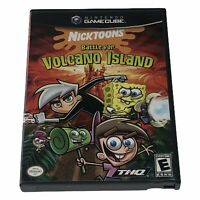 Nicktoons: Battle for Volcano Island Nintendo GameCube Case & Disc Tested Works