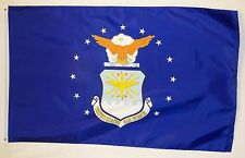Air Force Seal Flag 3' x 5' Heavy Nylon Outdoor Officially Licensed Banner