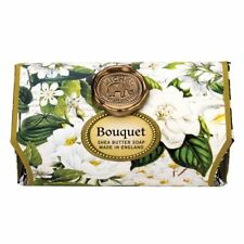 Michel Design Works Large 8.7 oz Artisanal Bar Bath Soap Bouquet Edelweiss Peony