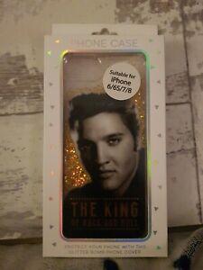 Elvis Presley glitter bomb iphone case 6-6s--7-8 Case