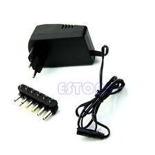Universal AC/DC Adaptor Power 3V 4.5V 5V 6V 7.5V 12V DC Charger EU Plug