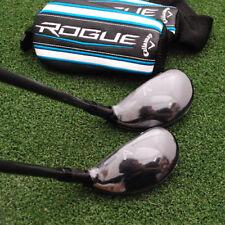 Callaway Golf Rogue Hybrid 2pc SET 2h&3h Synergy 60 Graphite Stiff Flex - NEW