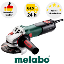 Metabo wev 11-125 Quick milímetros 603625000 angular 1100 vatios 125mm
